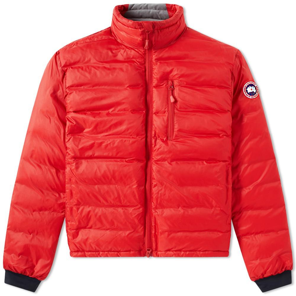 Lyst Canada Goose Lodge Jacket In Red For Men