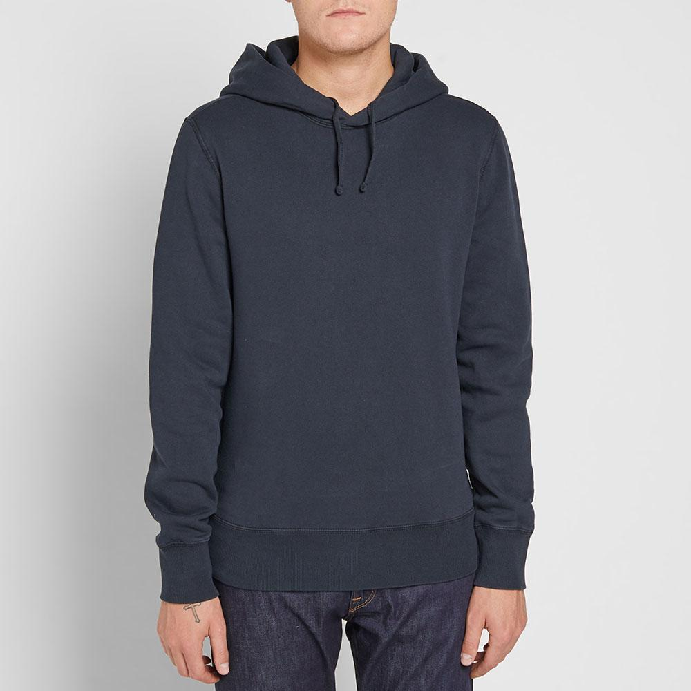 C P Company Cotton Mako Hoody in Blue for Men