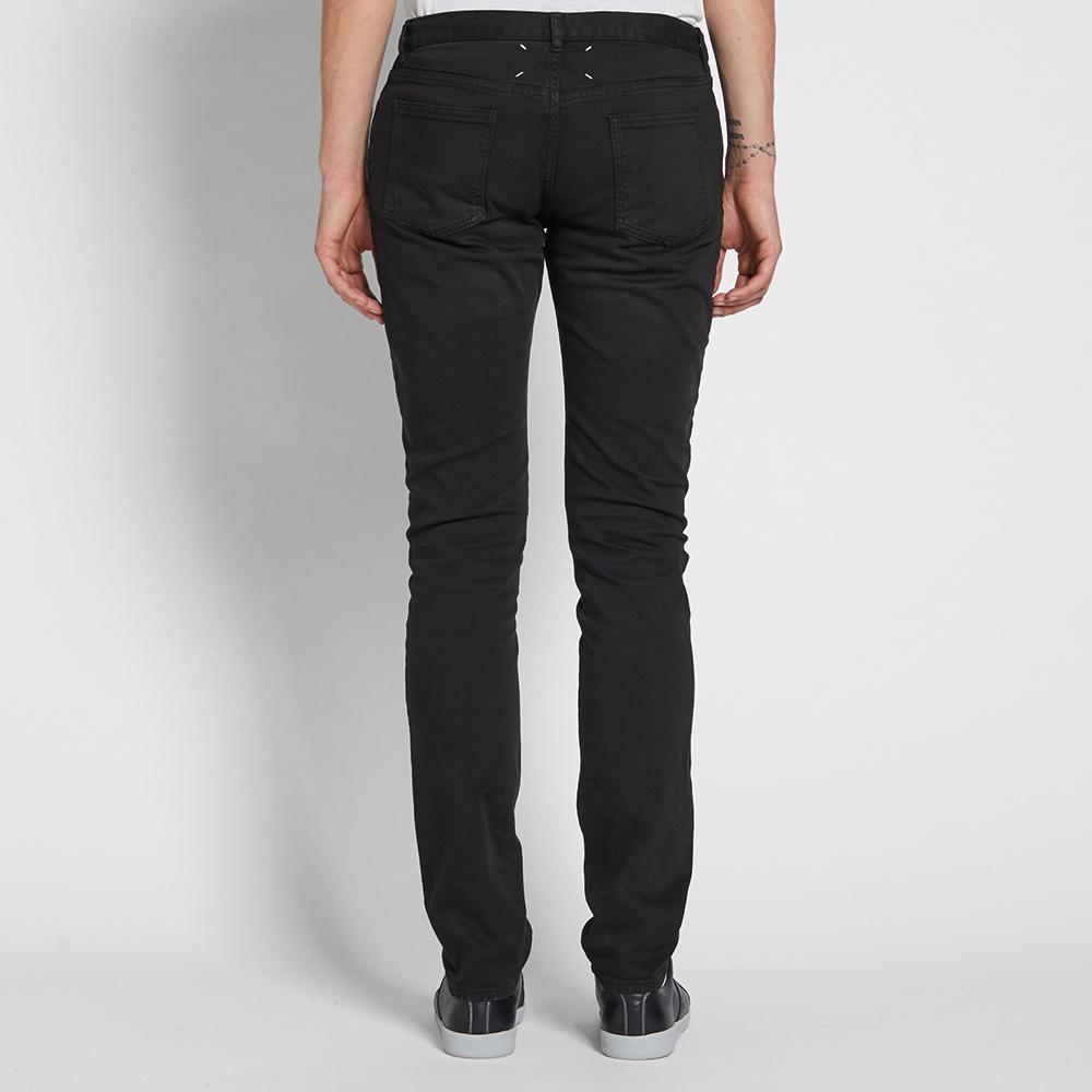 Maison Margiela Denim 10 Garment Dyed Slim Jean in Black for Men