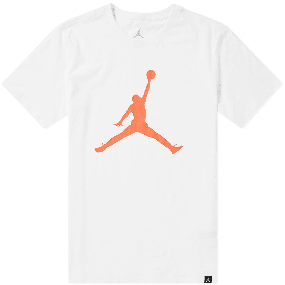 463d67940ead29 Lyst - Nike Air Jordan Iconic Jumpman 23 in White for Men - Save 29%