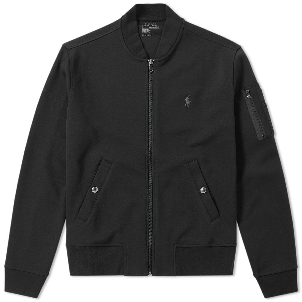 Polo Ralph Lauren Synthetic Double Tech Bomber Jacket In