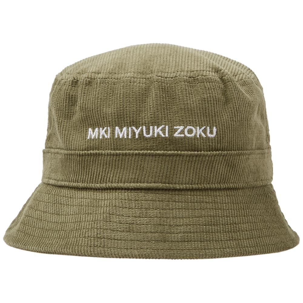Lyst - MKI Miyuki-Zoku Corduroy Bucket Hat in Green for Men eca92022744