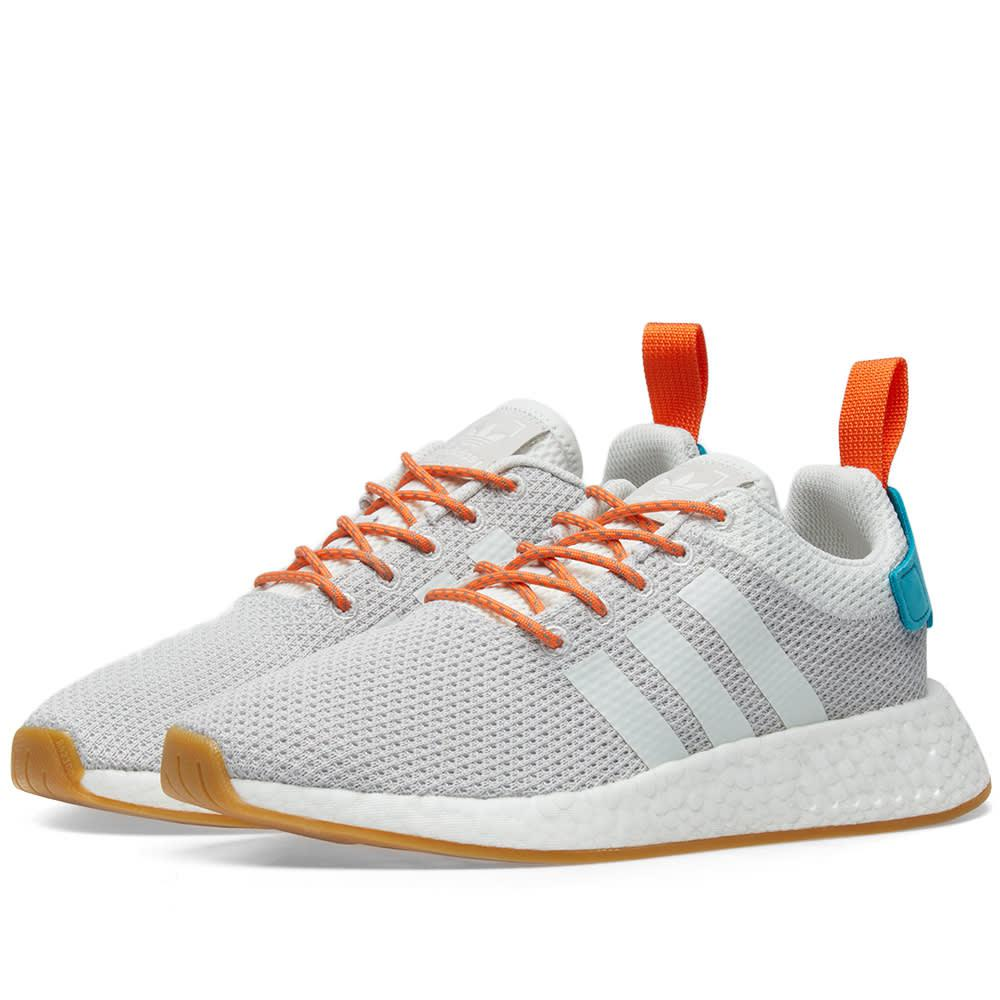 check out 90937 ae41d Lyst - adidas Nmd_r2 Summer in Gray for Men