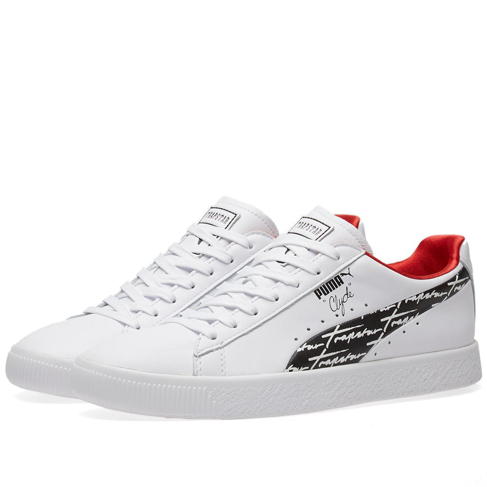 c4f71f43680612 Puma X Trapstar Clyde in White for Men - Lyst