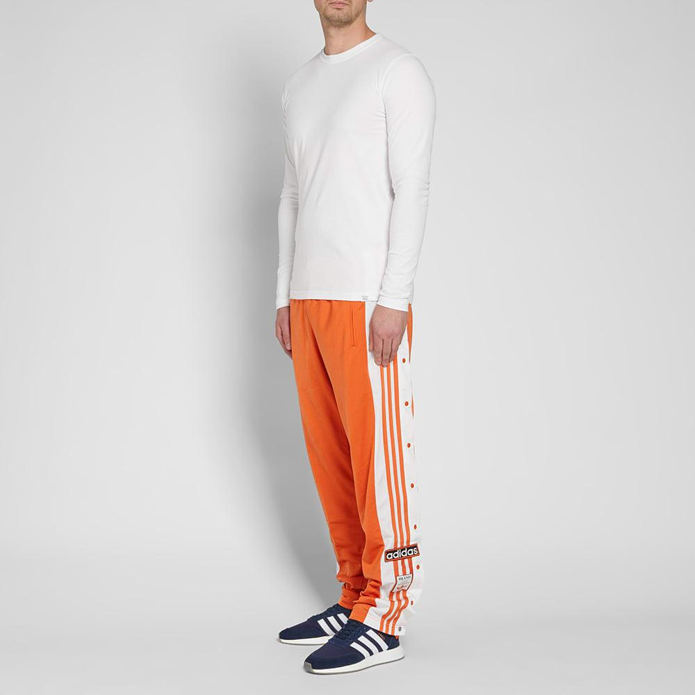 adidas Synthetic Og Adibreak Track Pant in Orange for Men