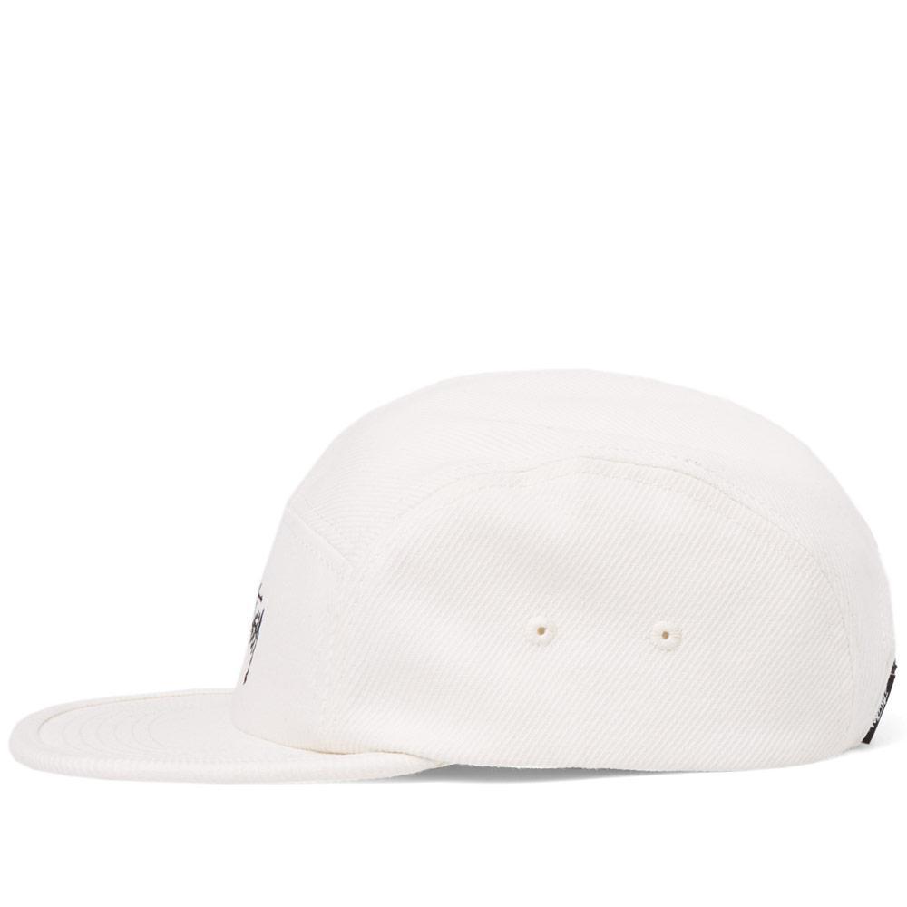 52fcc48a199 Lyst - Stussy Basic Logo Camp Cap in White for Men