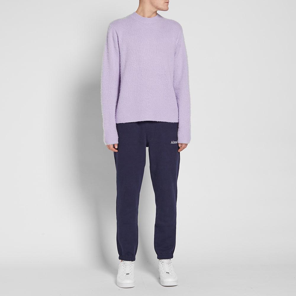 Acne Studios Wool Peele Knit in Purple for Men