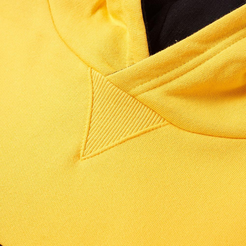 The North Face Cotton Fine Popover Hoody in Yellow for Men