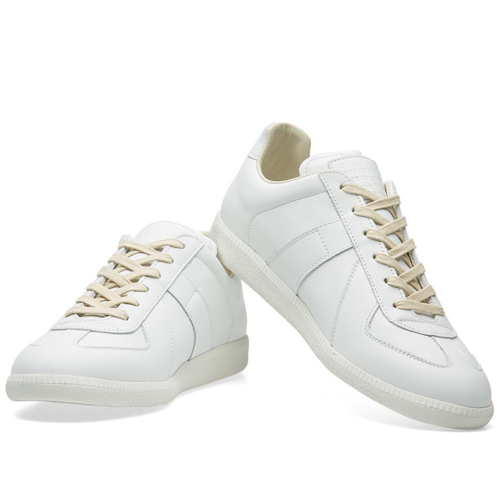 Maison Margiela 22 Replica Low Tonal Sneaker Black   END.