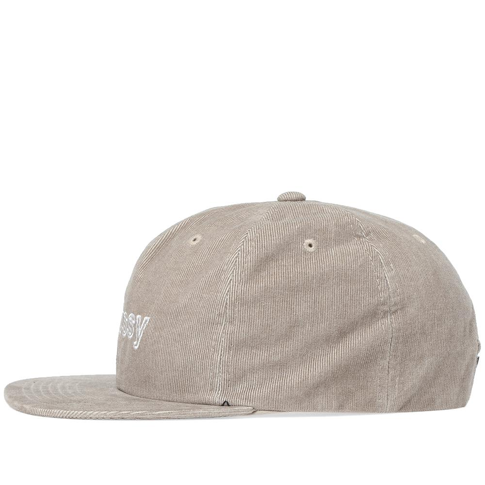 1869903b6e5 Lyst - Stussy Pigment Dyed Cord Cap in Gray for Men