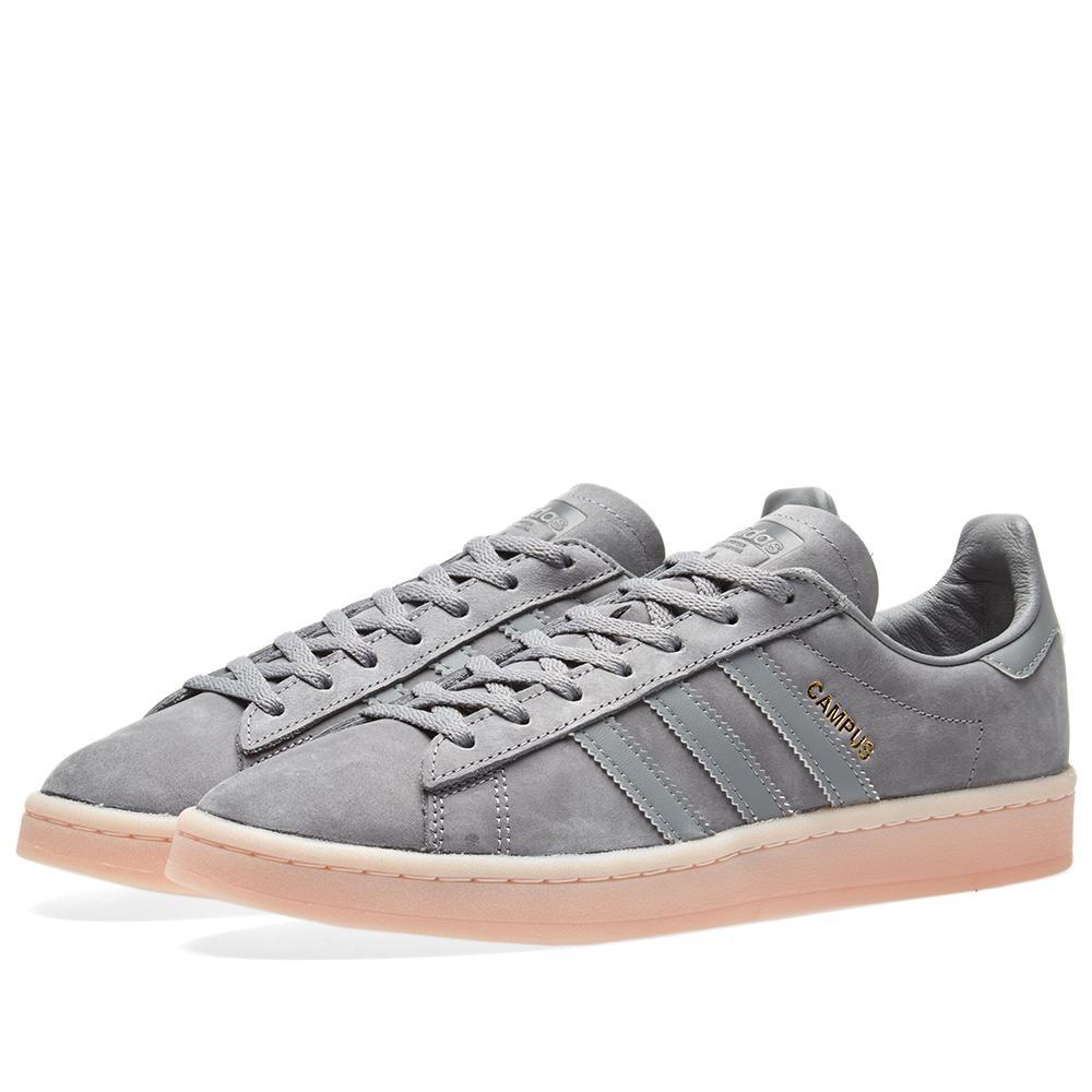 new style 4c524 fe63b Lyst Adidas originals Campus W in Gray