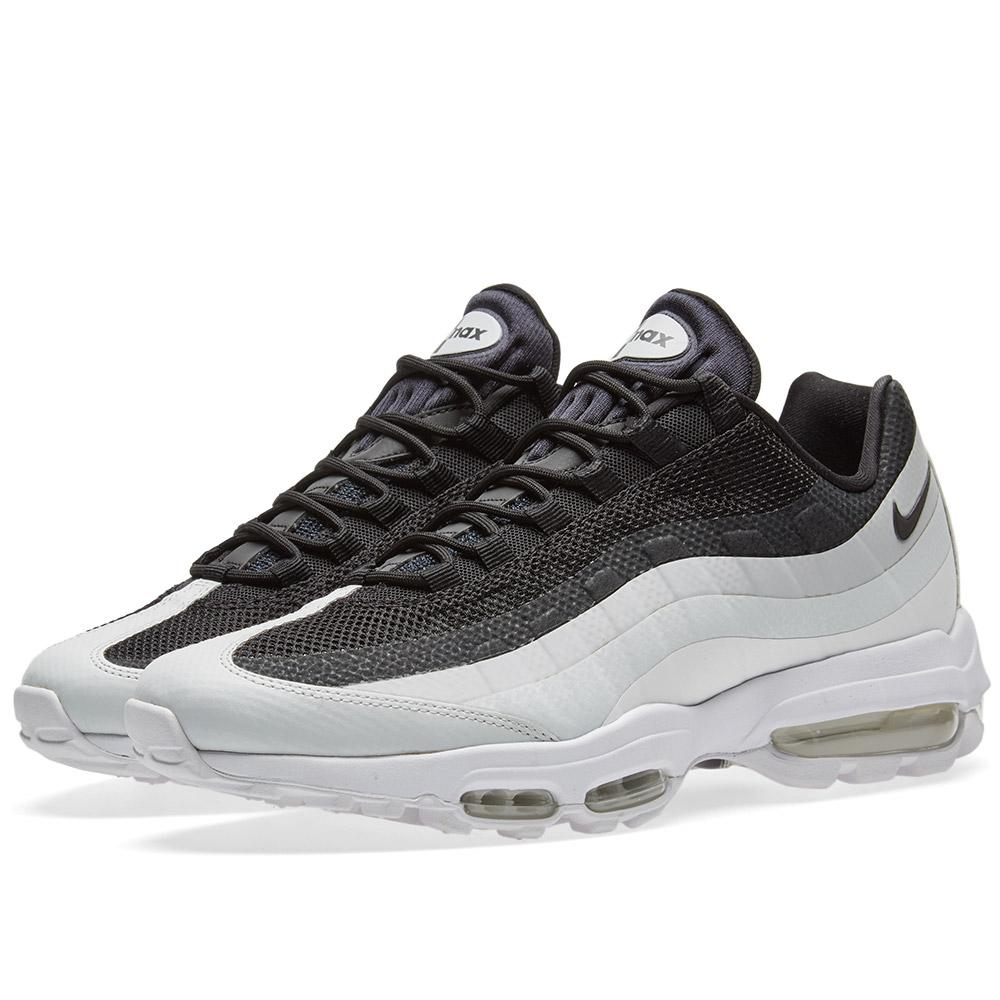 lyst nike air max 95 ultra essential in black for men. Black Bedroom Furniture Sets. Home Design Ideas