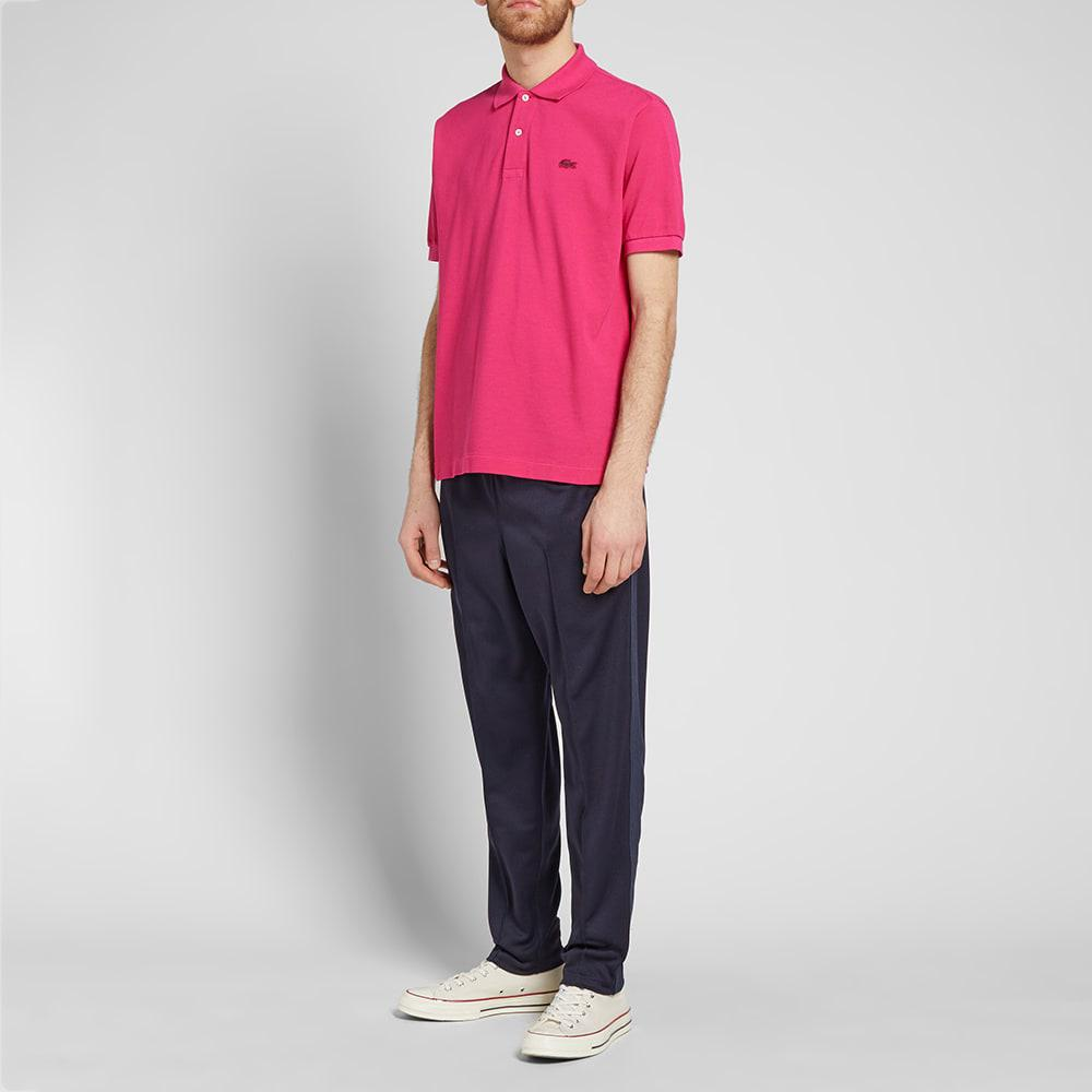 37c8fc4cc Lyst - Junya Watanabe X Lacoste Garment Dyed Polo in Pink for Men