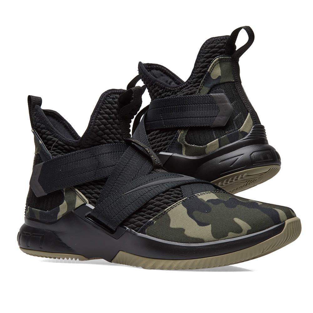 ac1707cdbe9 Lyst - Nike Lebron Soldier Xii Sfg in Black for Men