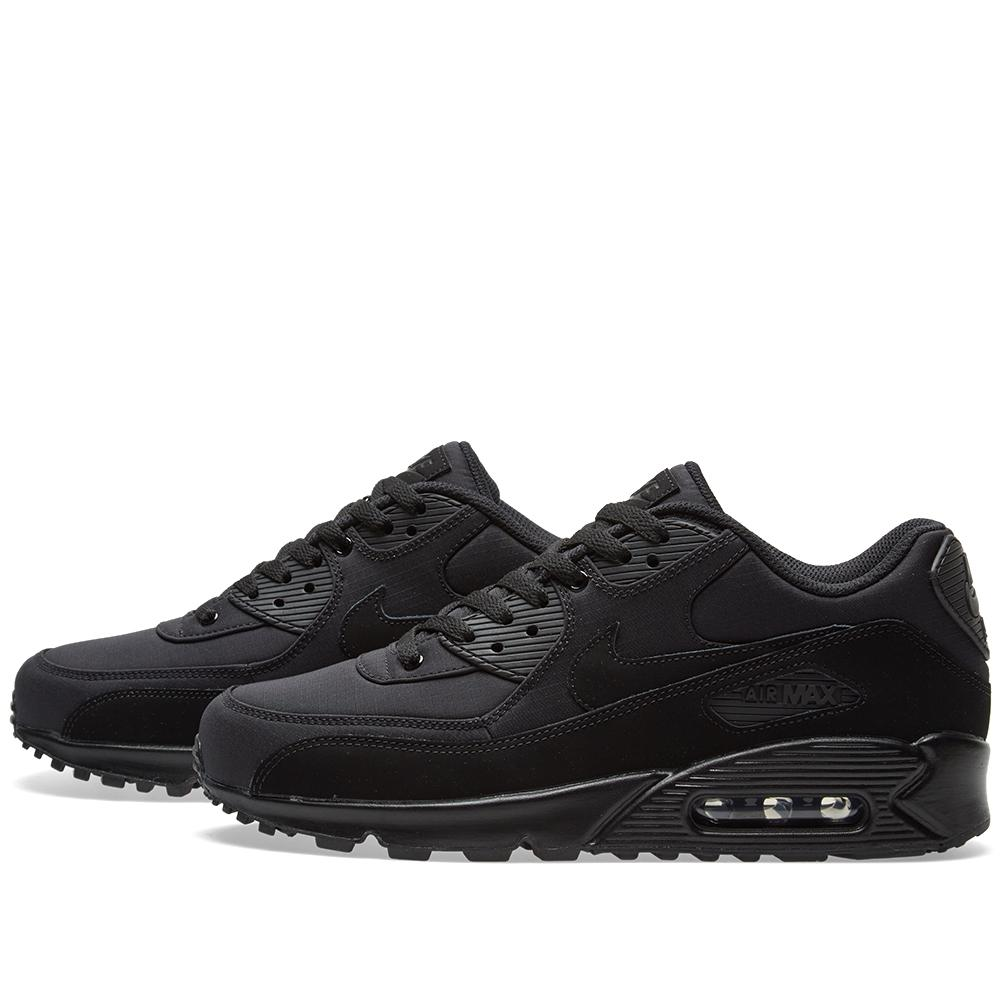 Nike Synthetic Air Max 90 Essential in Black for Men