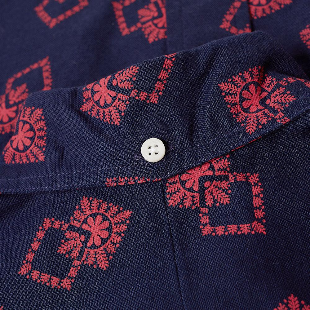 Gitman Brothers Vintage Cotton Snowflake Oxford Shirt in Blue for Men