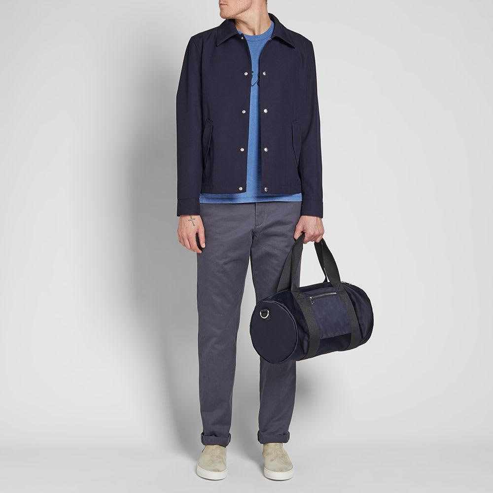 AMI Wool Coach Jacket in Blue for Men