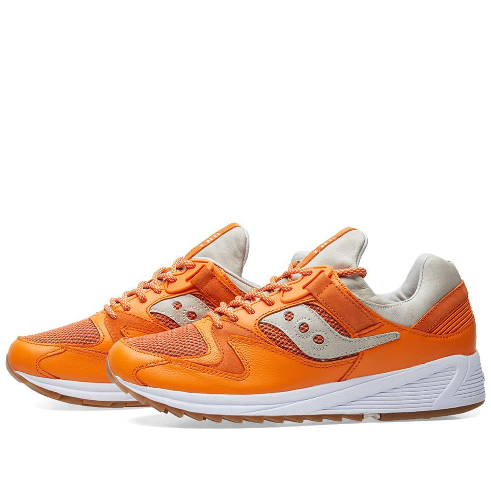 701b0301d840 Saucony End. X Grid 8500  lobster  in Orange for Men - Lyst