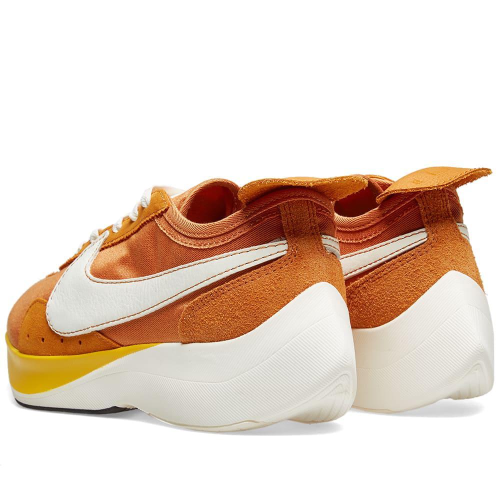 02dc49a0a83 Nike - Orange Moon Racer Sneakers for Men - Lyst. View fullscreen