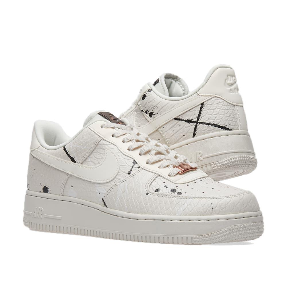 Nike Leather Air Force 1 '07 Lx W in White for Men