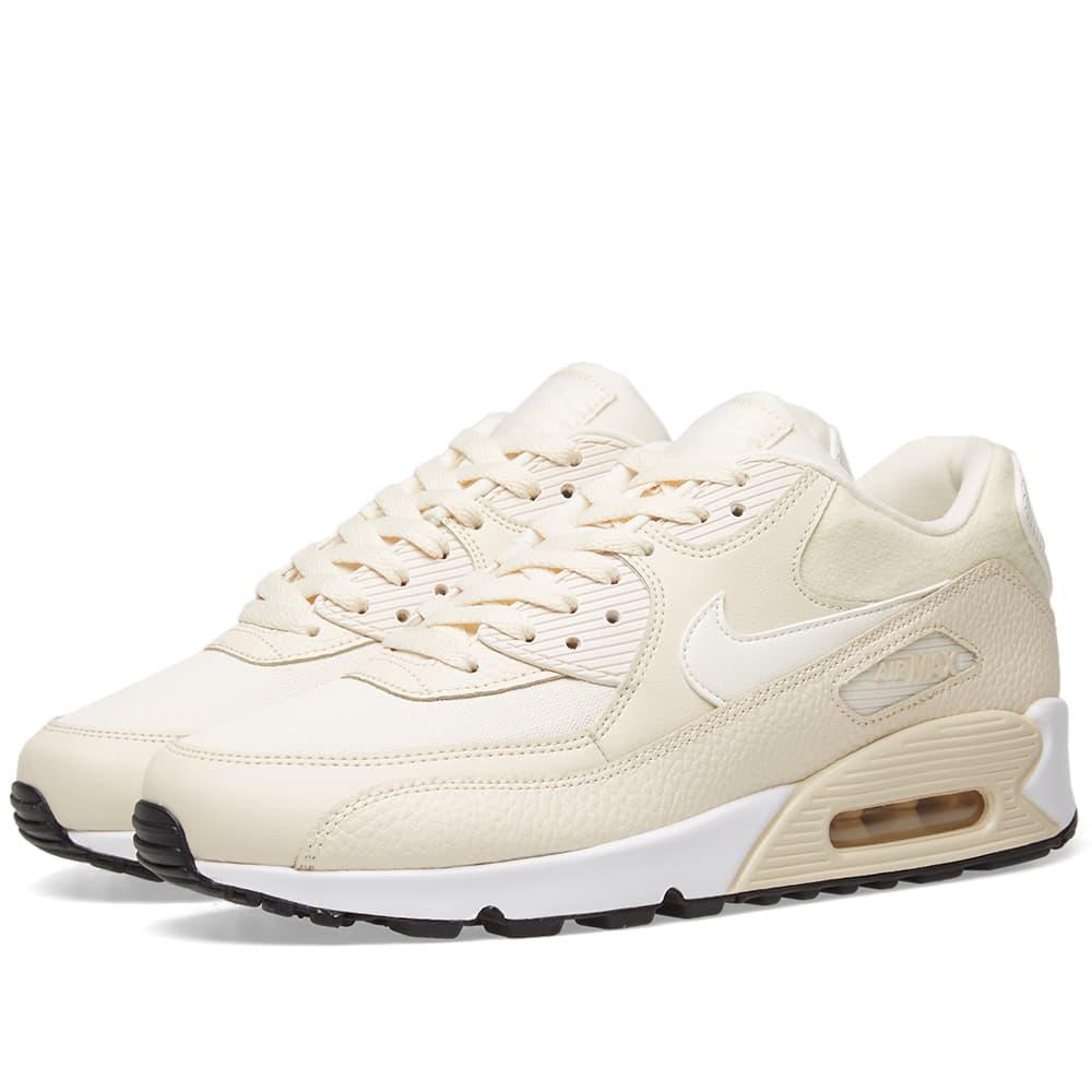 competitive price bd4f4 41ff0 Nike. Womens White Air Max 90 W