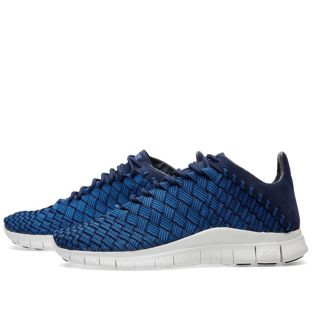 Nike Suede Free Inneva Woven in Blue for Men