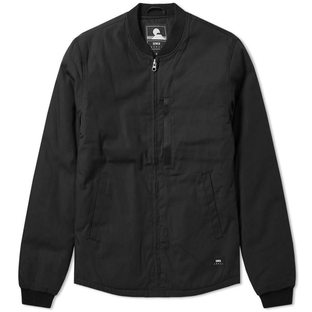 Jacket Men Edwin Stealth For Bomber Lyst In Black vFTHqETx