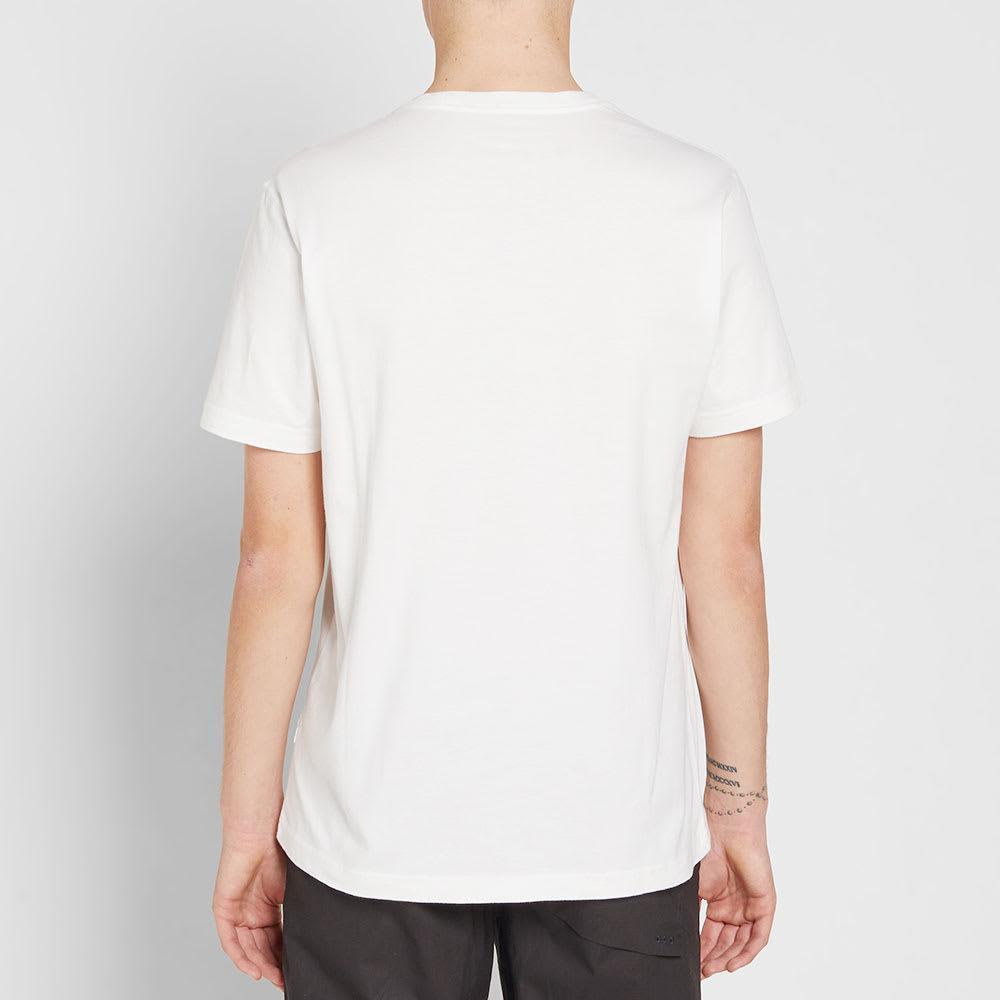 Maharishi Cotton Stencil Dragon Crew Neck Tee in White for Men