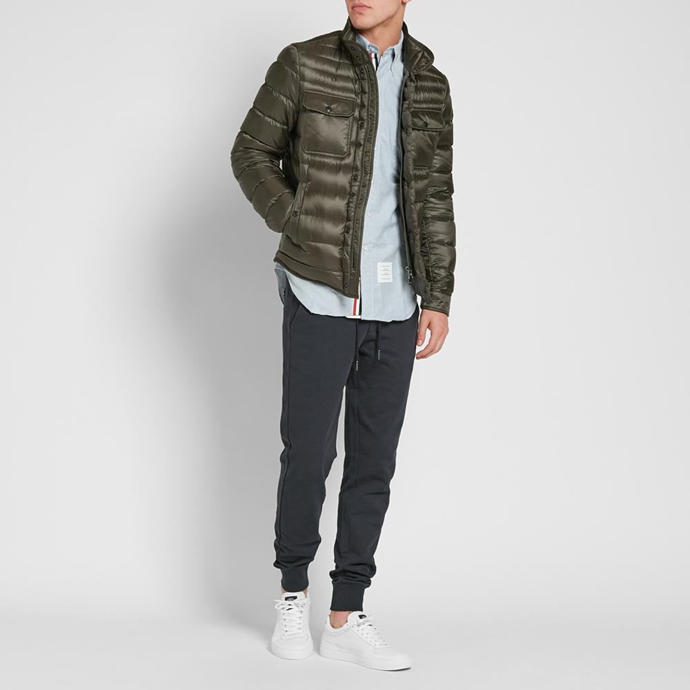 7b7e40702 Moncler Green Forbin Shirt Jacket for men