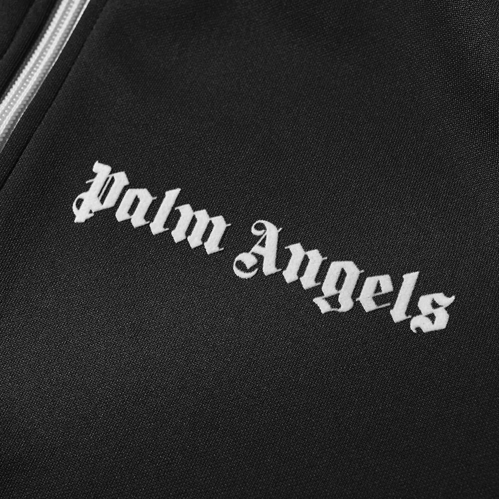 Palm Angels Synthetic Taped Track Jacket in Black for Men