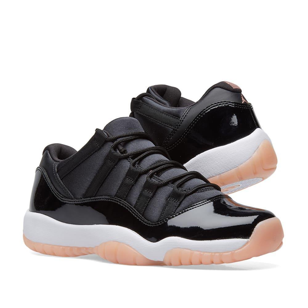 Nike Leather Air Jordan 11 Retro Low Bg in Black for Men