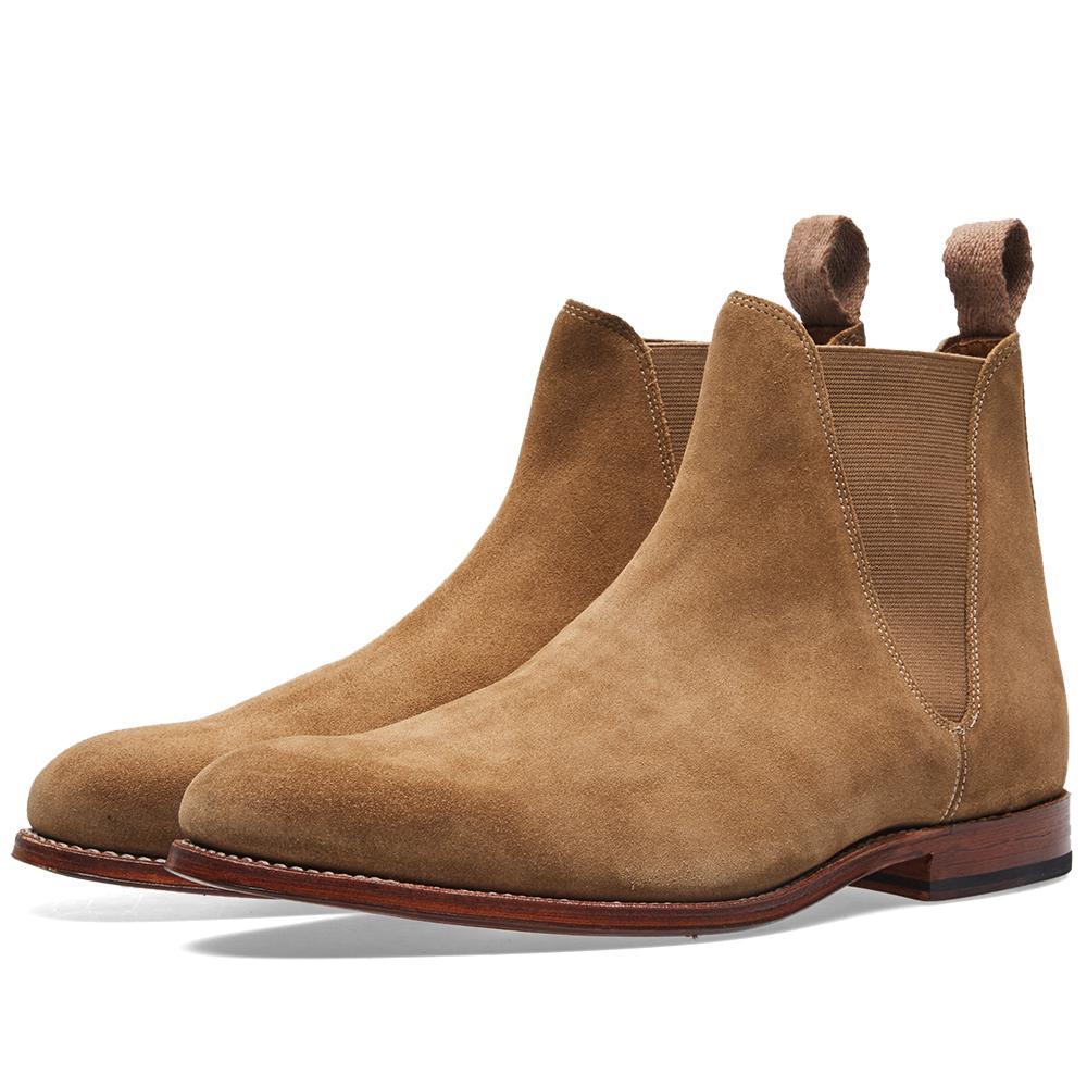Grenson Nolan Chelsea Boot in Brown for Men