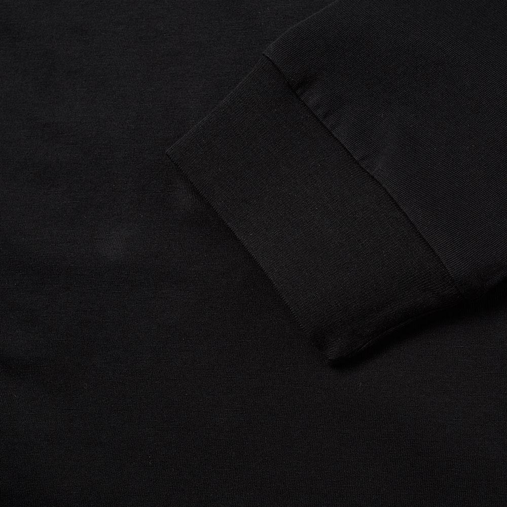 Marcelo Burlon Cotton Long Sleeve Worr Tee in Black for Men