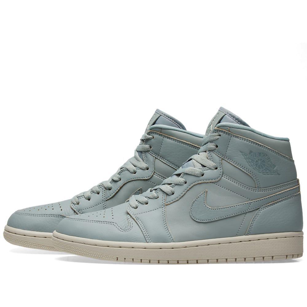 Lyst - Nike Air Jordan 1 Retro High Premium in Green f318cc614c