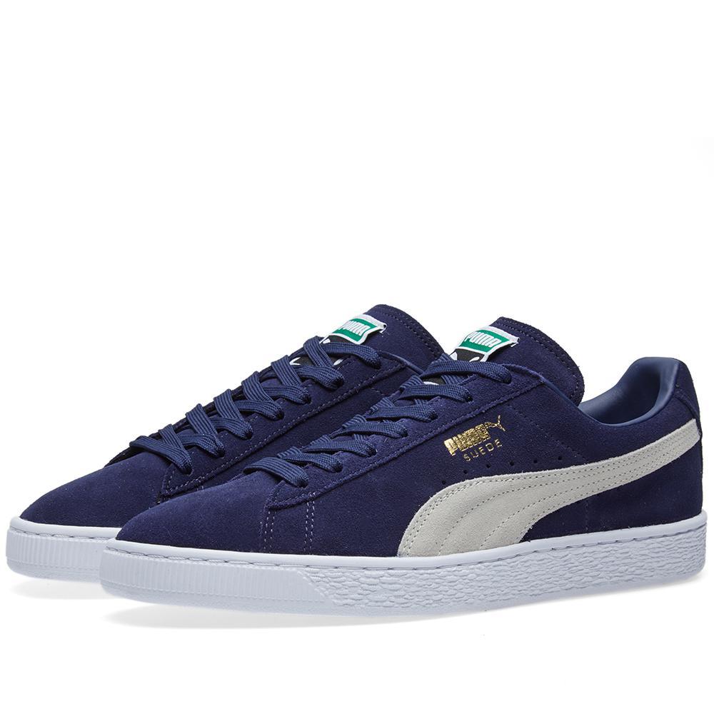 Lyst - Puma Suede Classic + in Blue for Men