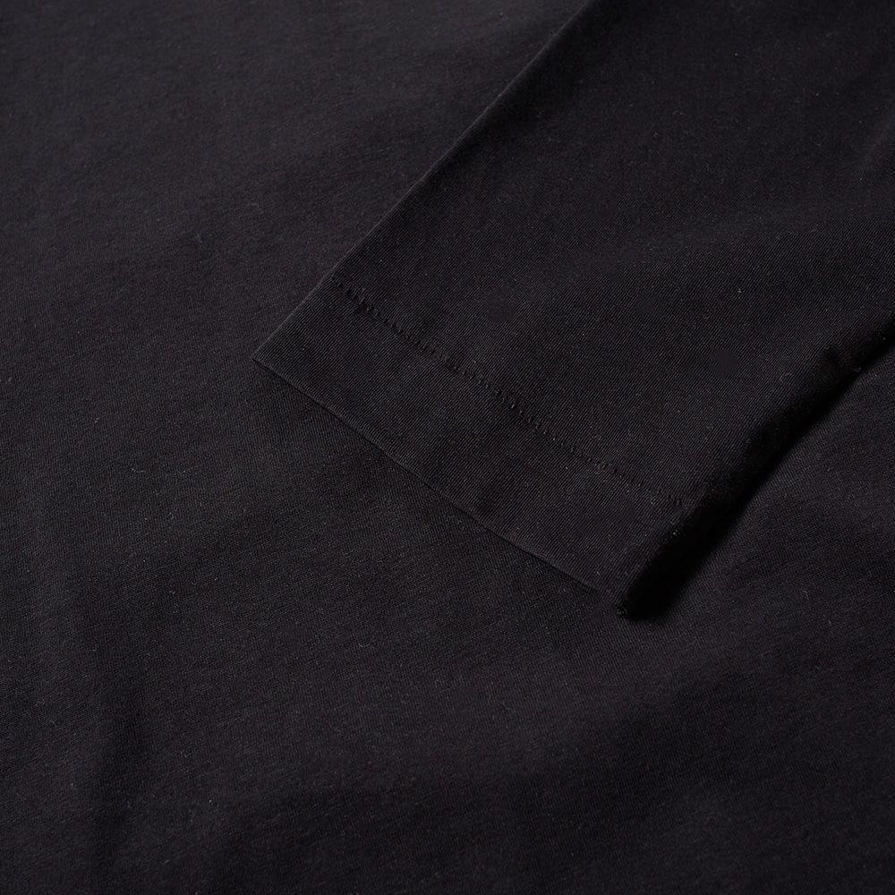 Etudes Studio Cotton Études Long Sleeve Award Black Roll Neck Tee for Men