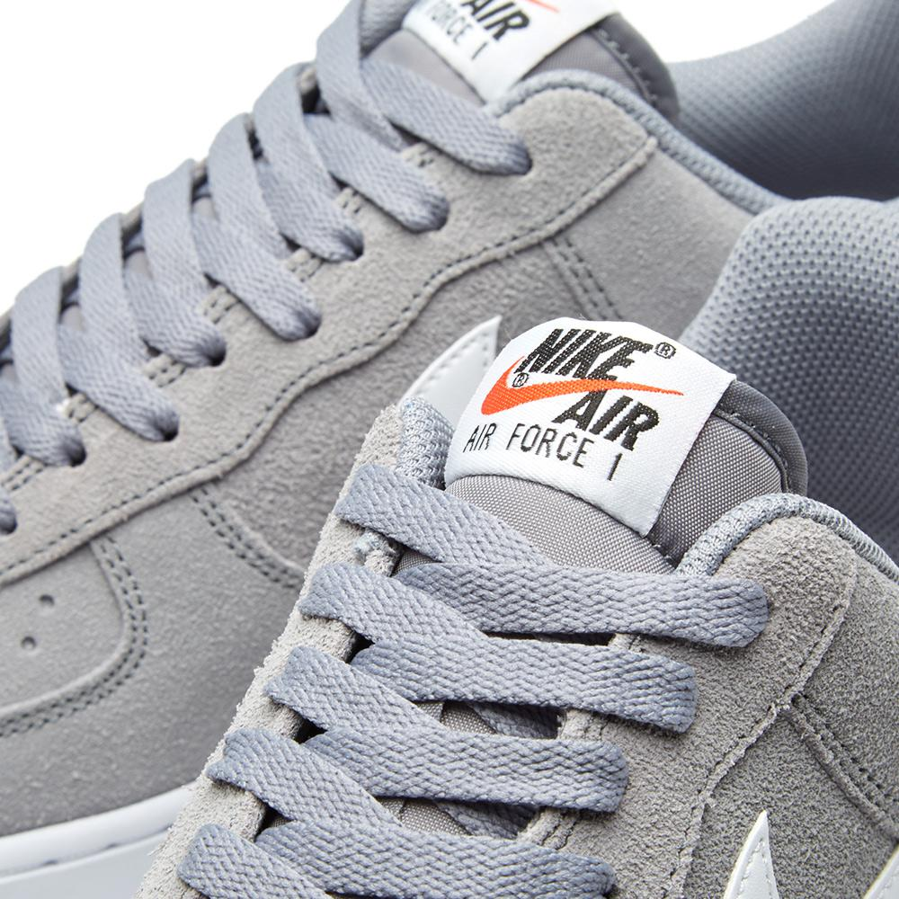 Nike Suede Air Force 1 in Grey (Grey) for Men