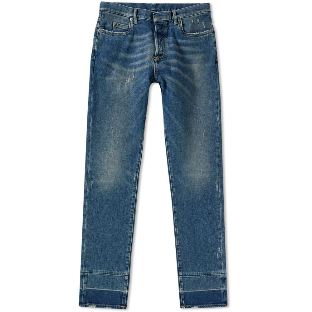 Lyst maison margiela 10 garment dyed slim jean in blue for 10 moulmein rise la maison