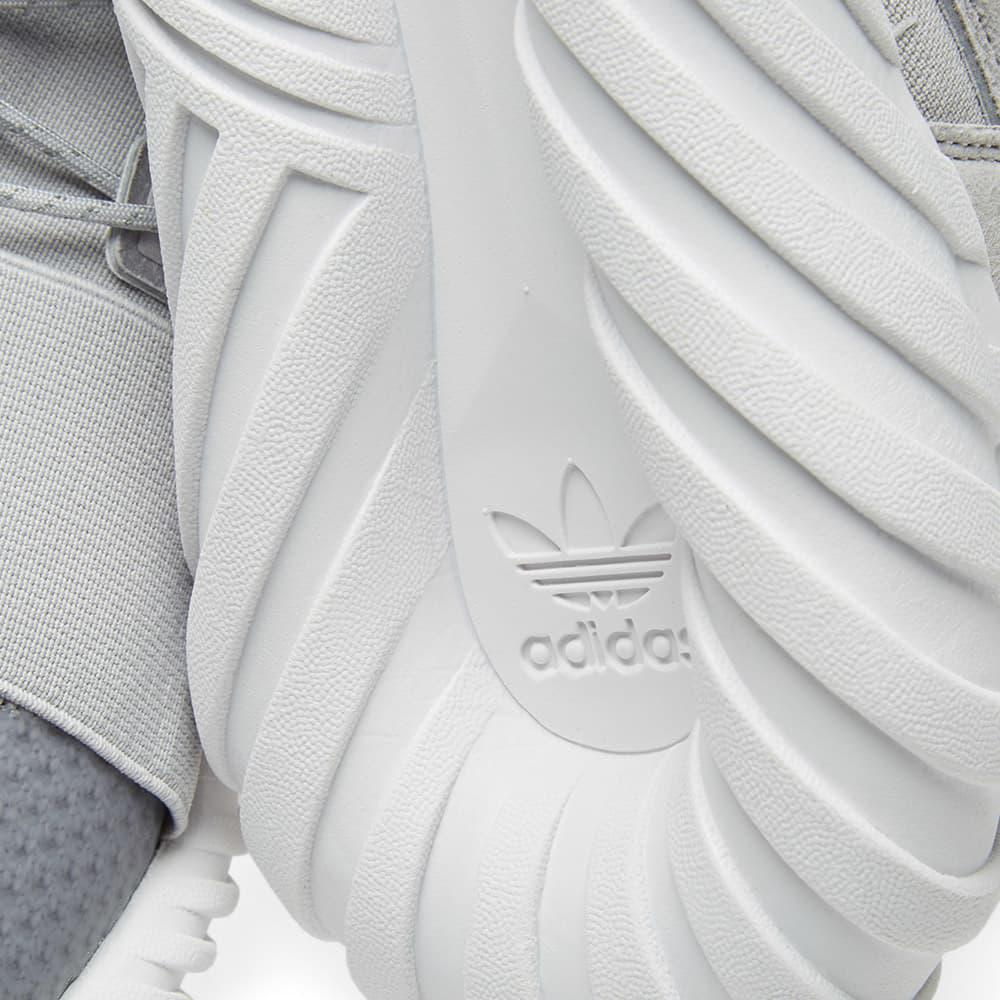 adidas Leather Tubular Doom Winter in Grey (Grey) for Men