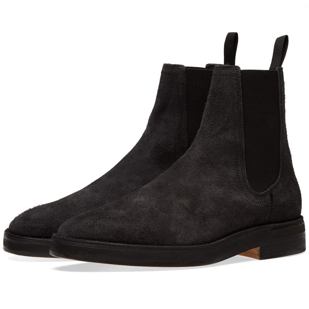 84c1035db10f8 Yeezy Chelsea Boot in Black for Men - Lyst