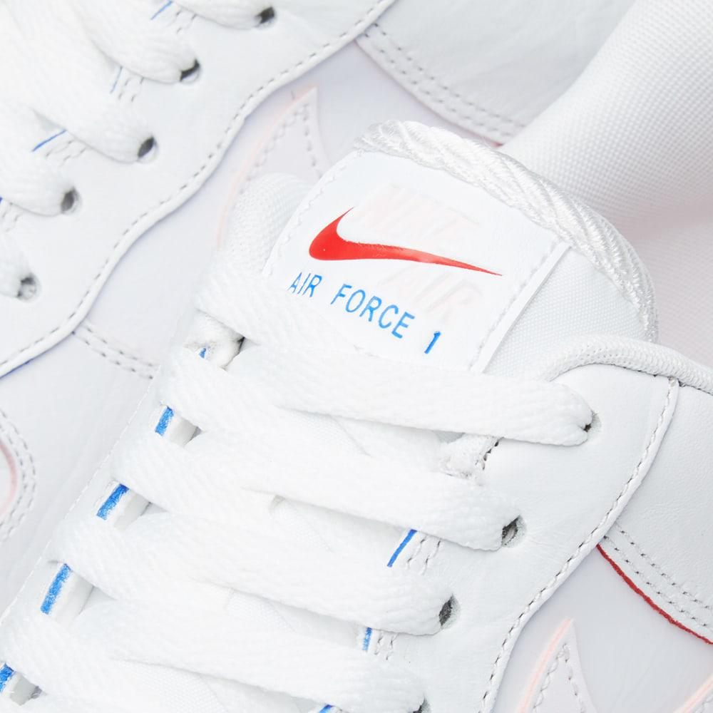 Nike Leather Air Force 1 Low W in White for Men