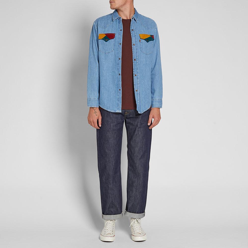 62dbd110de Levi s - Blue Levi s Vintage Clothing 70 s Denim Shirt for Men - Lyst. View  fullscreen
