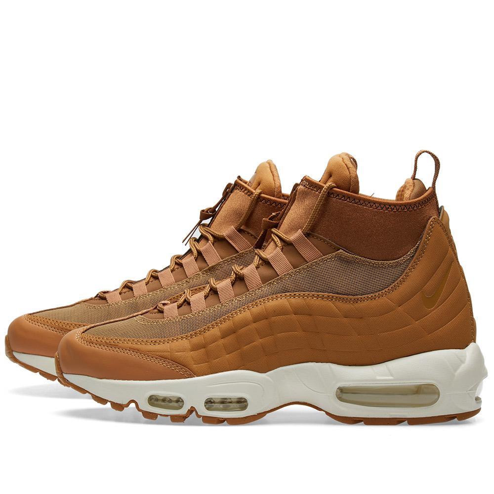 4f4bd13962 ... switzerland lyst nike air max 95 sneakerboot in brown for men d5cf3  b1575