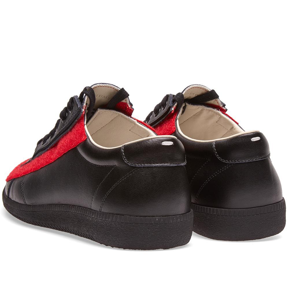 Lyst maison margiela 22 velcro city sneaker in black for men for Maison margiela 22