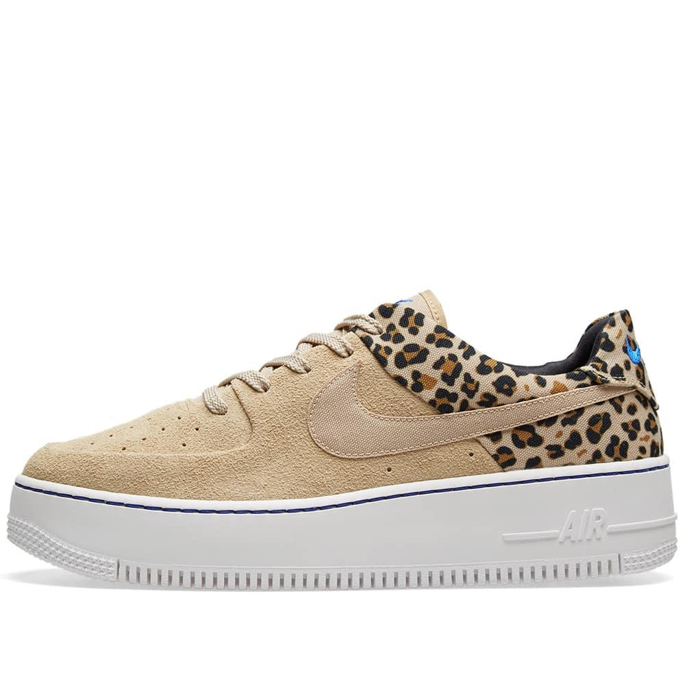best loved 6e457 0e771 Nike Air Force 1 Sage Lo Premium  animal Pack  in Brown - Lyst