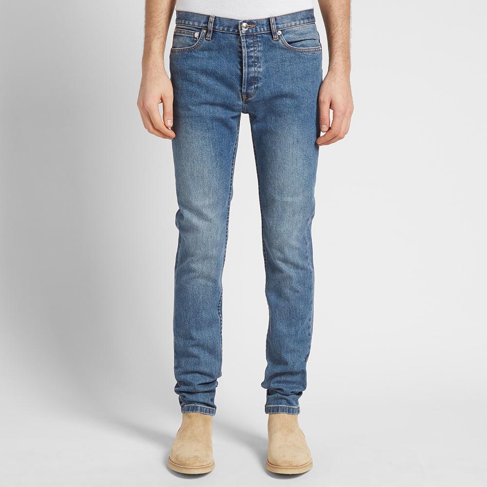 A.P.C. Denim Petit Standard Jean in Indigo (Blue) for Men