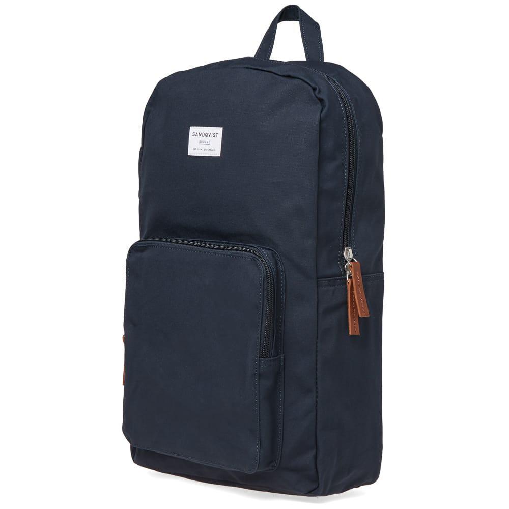 Sandqvist - Blue Kim Backpack for Men - Lyst. View fullscreen b3d56d81b5461