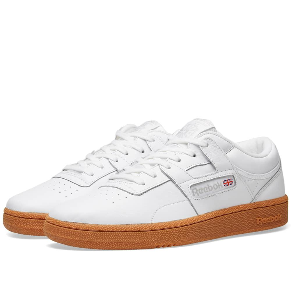 e44ee86b63bd9 Reebok Club Workout Gum in White for Men - Save 55% - Lyst