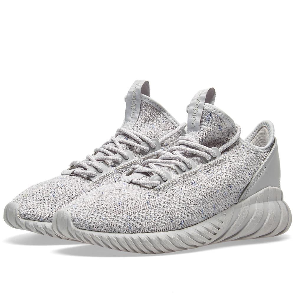 online retailer bfa12 51342 Adidas Gray Tubular Doom Sock Pk