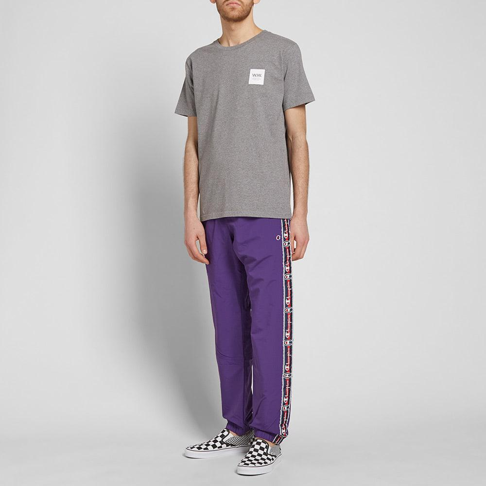 f435dbf640db Lyst - Champion Vintage Taped Track Pant in Purple for Men
